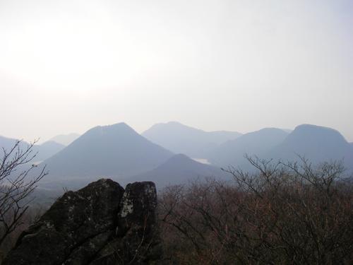雄岳から望む榛名富士