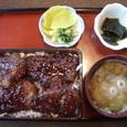 麺舗 わく玉  990円(ソースカツ重)