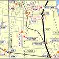 渋川駅近郊