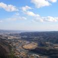 富士山頂から望む吾妻川