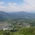 伊香保からの眺望(子持山)