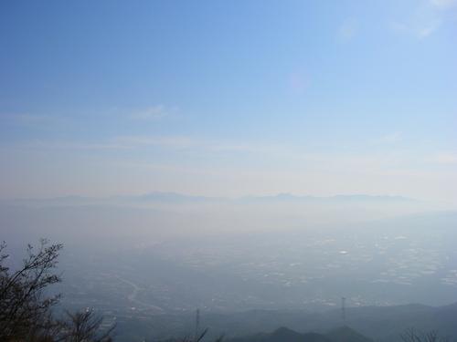 浮かぶ赤城山