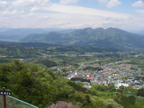 伊香保からの眺望(小野子山)