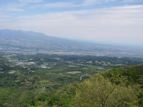 伊香保からの眺望(赤城山南麓)